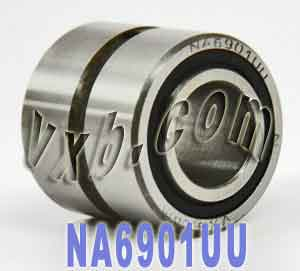 NA6901UU Needle Roller:12x24x23:VXB:Ball Bearings