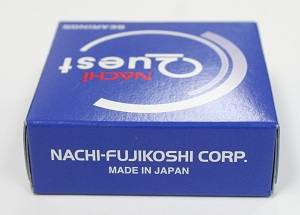 6214ZZENR Nachi Bearing 70x125x24:Shielded:C3:Snap Ring:Japan