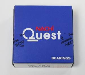 6015ZZENR Nachi Bearing 75x115x20:Shielded:C3:Snap Ring:Japan