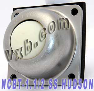 "NCBT-1 1/2"" SS Flange mounted Ball Transfer Unit 1 1/2"" Main Ball:vxb:Ball Bearing"