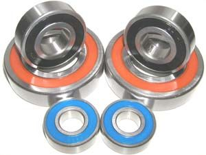 Yamaha Blaster Front/Rear Bearing Set:vxb:Ball Bearing