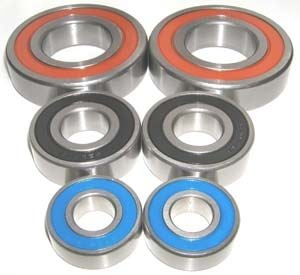 Yamaha Blaster Front/Rear Bearing Set:vxb:Ball Bearings