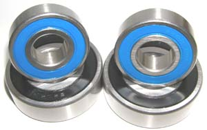Yamaha Warrior Front Bearing set of 4:vxb:Ball Bearing