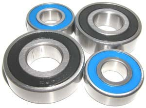 Yamaha Warrior Front Bearing set of 4:vxb:Ball Bearings