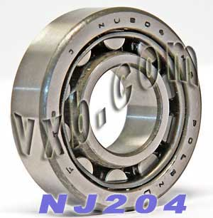 Cylindrical Roller Bearings N204