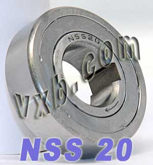 NSS20 One Way Clutch Bearing 20x47x14:vxb:Ball Bearing