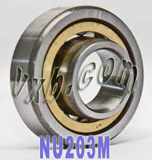 NU203M Cylindrical Roller Bearings