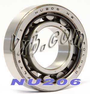 Cylindrical Roller Bearings NU 206