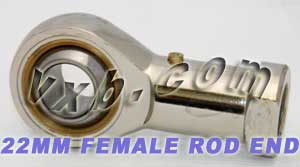 One Female Rod End 22mm PHS22:vxb:Ball Bearing