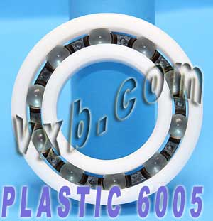 POM 6005 Plastic Radial With Glass Bearing 25x47x12:vxb:Ball Bearing