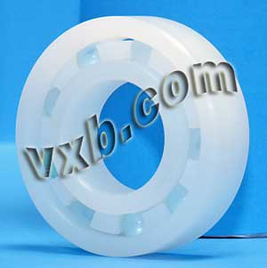 POM 607 Plastic Radial With Glass Bearing 7x19x6:vxb:Ball Bearing
