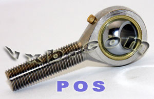 One Male Rod End 4mm POS4 Right Hand:vxb:Ball Bearing