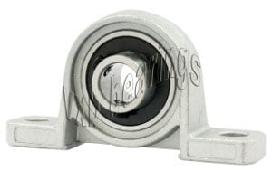 P000 Miniature Pillow Block Mounted Bearing:10mm diameter:vxb:Ball Bearings