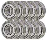 "10 Bearings R1038ZZ 3/8""x5/8""x5/32""Shielded:vxb:Ball Bearings"