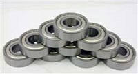 "10 Unflanged Slot Car Axle Bearing 3/32"" x 3/16"" x 3/32"" Shielded:vxb:Ball Bearing"