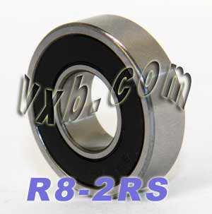 "R8-2RS Bearing 1/2""x1 1/8""x5/16"" Sealed:vxb:Ball Bearing"