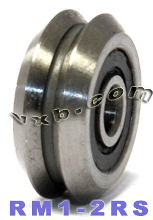 "3/16"" V Groove Guide Bearings:vxb:Ball Bearing"