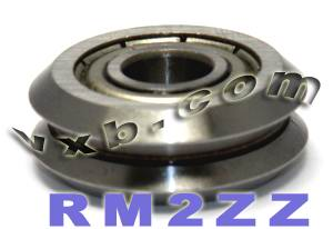 "3/8"" V Groove Guide Bearings:vxb:Ball Bearing"