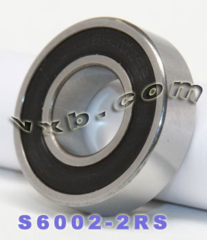 S6002-2RS Bearing 15x32x9:Stainless:Sealed:vxb:Ball Bearing