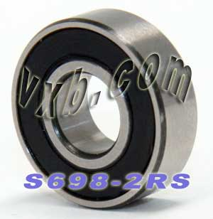 S698-2RS Ball Bearing 8X19X6 Sealed:vxb:Ball Bearing