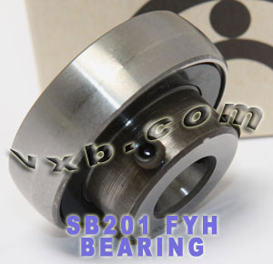 12mm Cylindrical bore SB201:vxb:Ball Bearing