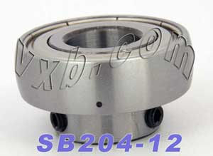 SB204-12 Ball Bearing Insert:vxb:Ball Bearing