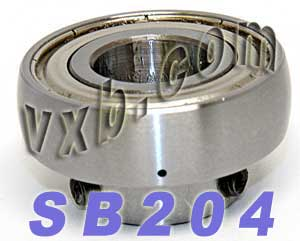 20mm SB204 Ball Bearing Insert:vxb:Ball Bearing