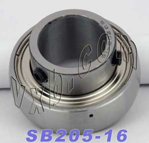 SB205-16 Ball Bearing Insert:vxb:Ball Bearing