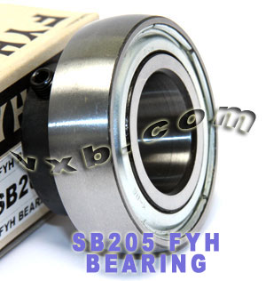 25mm Cylindrical bore SB205:vxb:Ball Bearing