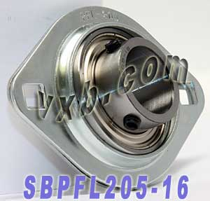 SBPFL205-16 Pressed Steel Housing Unit