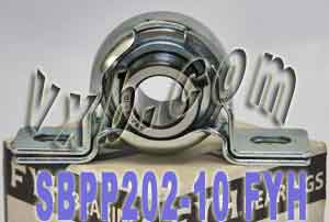 "5/8"" Steel plate pillow Bearing SBPP202-10:vxb:Ball Bearing"