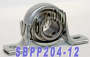 SBPP204-12 Pressed Steel Housing Unit