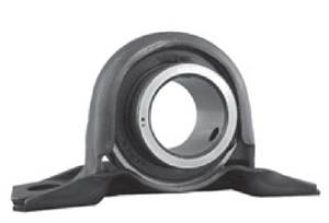 "1-1/4"" Steel plate pillow Bearing SBPP206-20:vxb:Ball Bearing"
