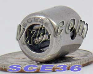 "SCE36 Needle Bearing 3/16""x11/32""x3/8"":vxb:Ball Bearing"
