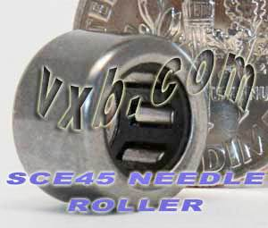"SCE45 Needle Bearing 1/4""x7/16""x5/16"" BA45ZOH:vxb:Ball Bearing"