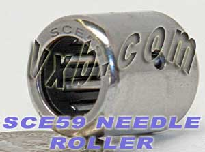 "SCE59 Needle Bearing 5/16""x1/2""x9/16"" BA610ZOH:vxb:Ball Bearing"