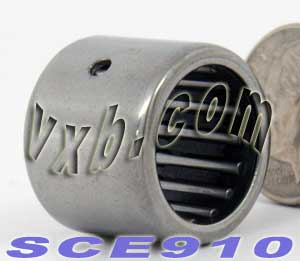 "SCE910 Needle Bearing 9/16""x3/4""x5/8"" BA910ZOH:vxb:Ball Bearing"