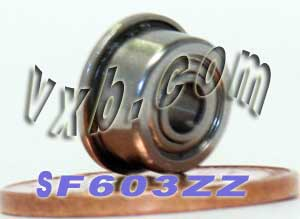 Flanged Bearing 3x9x5 Shielded:vxb:Ball Bearing