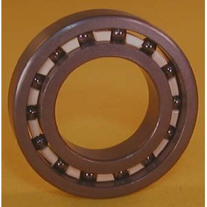 6200 Full Ceramic Sealed Bearing 10x30x9 Si3N4:vxb:Ball Bearing