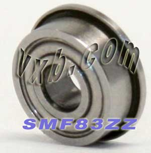 10 SMF 148ZZ 8X14X4 Flanged Bearings Made In Japan A103