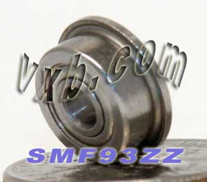 Flanged Bearing 3x9x4 Shielded:vxb:Ball Bearing