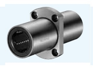 SMSTC10GUU NB 10mm Two Side Cut Center Flange Slide Bush:Nippon Bearing Linear Systems