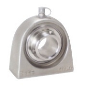 "SSUCPAS206-18 Stainless Steel Tapped Base Pillow Block Unit:1 1/8"" inner diameter::Ball Bearing"