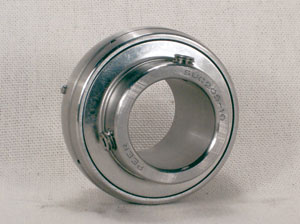 "SUC206-18 Stainless Steel Insert:1 1/8"" inner diameter:vxb:PEER Ball Bearing"