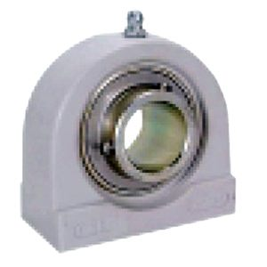 "SUCPAS203-11-PBT Thermoplastic Stainless Steel Tapped Base Pillow Block Bearing:11/16"" inner diameter:Ball Bearing"
