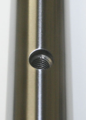 "16mm Linear Motion Tapped Shaft 60"" Hardened Rod:vxb:Bearings"