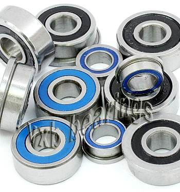 Team Associated Rc10t4 RTR Plus SE 1/10 Scale Bearing set RC Ball Bearings