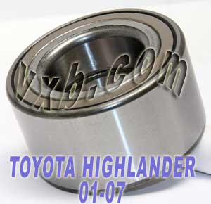 TOYOTA HIGHLANDER Auto/Car Wheel Ball Bearing 2001-2007:VXB Ball Bearing