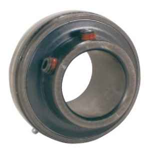 "UC207-22-BLK Oxide Plated Insert:1 3/8"" inner diameter:PEER Ball Bearing"