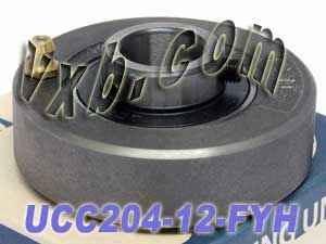 "3/4"" Cartridge Mounted Bearing UCC204-12:vxb:Ball Bearing"